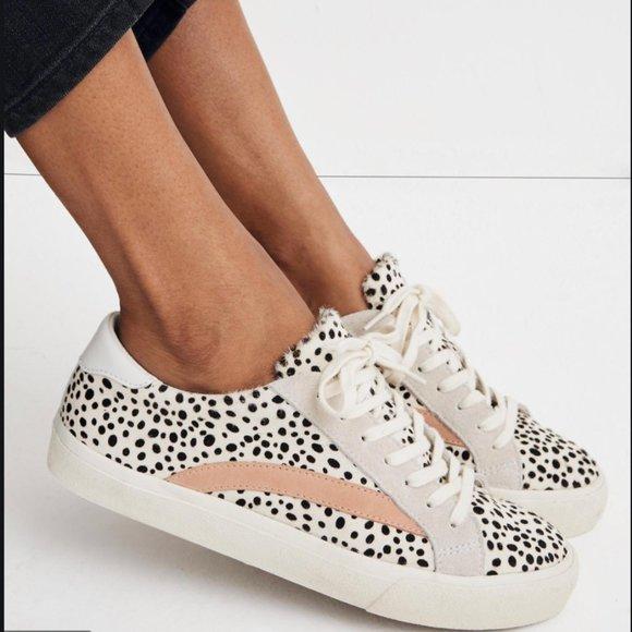 Mohair Leopard Sneakers